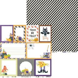 P13 skräppipaperi Happy Halloween 05
