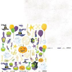 P13 skräppipaperi Happy Halloween 07