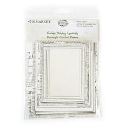 49 and Market leikekuvat Vintage Artistry Essentials File Frame, Rectangle Stitched
