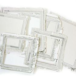 49 and Market leikekuvat Vintage Artistry Essentials File Frame, Square Stitched