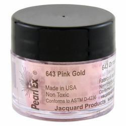 Jacquard Pearl Ex -pigmenttijauhe, sävy Pink Gold