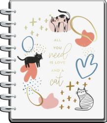 Mambi Classic Planner -kalenteri, Modern Meow, 12 kk päivätty
