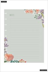 Happy Planner Block Pad -paperipakkaus, Floral