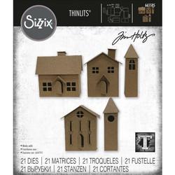 Sizzix Thinlits stanssi Paper Village #2