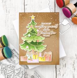Pinkfresh Studio stanssi Under The Christmas Tree