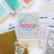 Pinkfresh Studio leimasinsetti Happy Holidays Circle Frame