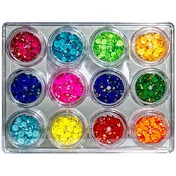 Buttons Galore Jewelz -tekokristallit, Brights