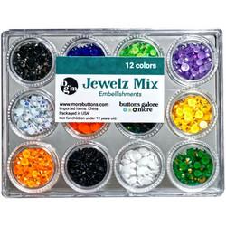 Buttons Galore Jewelz -tekokristallit, Halloween