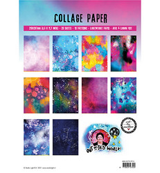 Studio Light Art By Marlene paperipakkaus Collage Paper, Out of This World