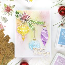 Pinkfresh Studio stanssi Holiday Ornaments