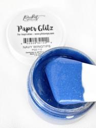 Picket Fence Paper Glitz, sävy Navy Wingtips