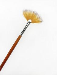 Picket Fence Fan Brush -sivellin