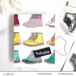Altenew Travel Boots -leimasin