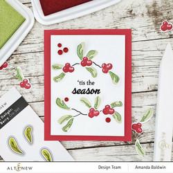 Altenew Mini Delight: Very Berry -leimasin- ja stanssisetti