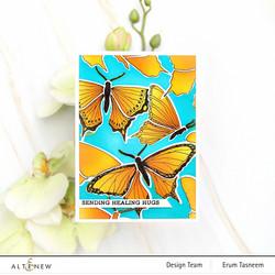 Altenew Bountiful Butterflies -sapluuna