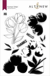 Altenew Cartoon Tulips -leimasinsetti