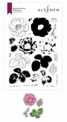Altenew Build-A-Flower Wild Rose stanssi- ja leimasinsetti