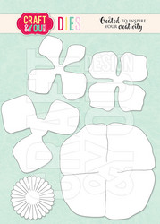 Craft & You stanssi Anemone Flowers