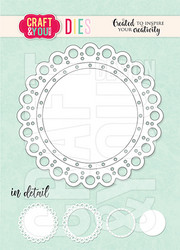 Craft & You stanssi Mini Sweet Doily