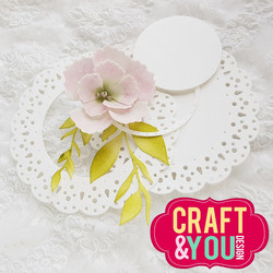 Craft & You stanssi Sweet Doily