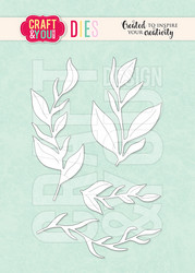 Craft & You stanssi Leaves Set 2