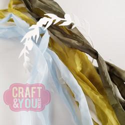 Craft & You Vintage Ribbons -nauhat, setti 14