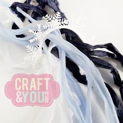 Craft & You Vintage Ribbons -nauhat, setti 15