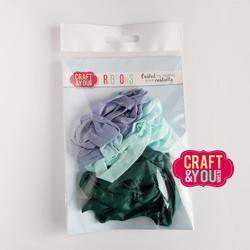 Craft & You Vintage Ribbons -nauhat, setti 16