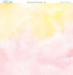 Paper Heaven skräppipaperi Petals On The Wind 01