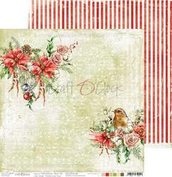 Craft O'clock skräppipaperi Christmas Time 02