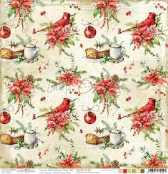 Craft O'clock skräppipaperi Christmas Time 03