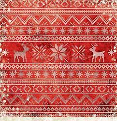 Craft O'clock skräppipaperi Christmas Time 04