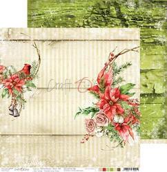 Craft O'clock skräppipaperi Christmas Time 06