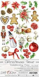 Craft O'clock paperipakkaus Christmas Time, Extras To Cut