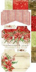 Craft O'clock paperipakkaus Christmas Time, Junk Journal Extras