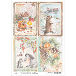 Ciao Bella riisipaperi The Gift of Love, Cards