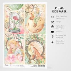 Ciao Bella riisipaperi The Little Prince, Cards