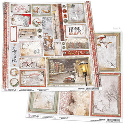 Ciao Bella Memories Of Snowy Day -skräppipaperi Memories of Snowy Day, Cards