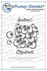 Whimsy Stamps Jeepers Creepers -leimasin