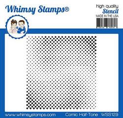 Whimsy Stamps Comic Half-Tone -sapluuna
