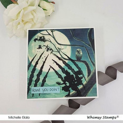Whimsy Stamps Clawed -sapluuna