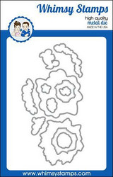 Whimsy Stamps Octo Elements Outlines -stanssisetti