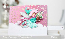 Whimsy Stamps No-See Kinetic Basics -stanssisetti
