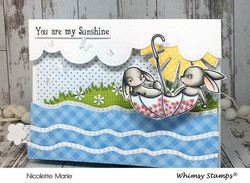 Whimsy Stamps Kinetic Straight Waves -stanssisetti