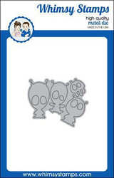 Whimsy Stamps Space Minions -stanssisetti