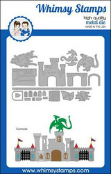Whimsy Stamps Build-a-Castle -stanssisetti