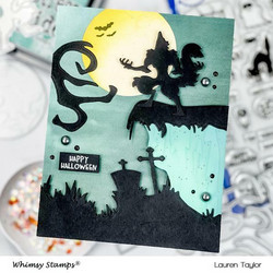 Whimsy Stamps Howling Night -stanssisetti