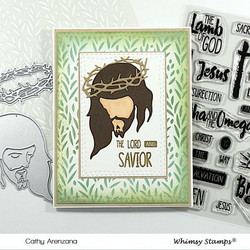 Whimsy Stamps Savior -stanssisetti