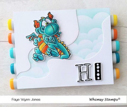 Whimsy Stamps Quirky ABC -stanssisetti