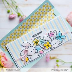 Whimsy Stamps Slimline Envelope Builder -stanssisetti
